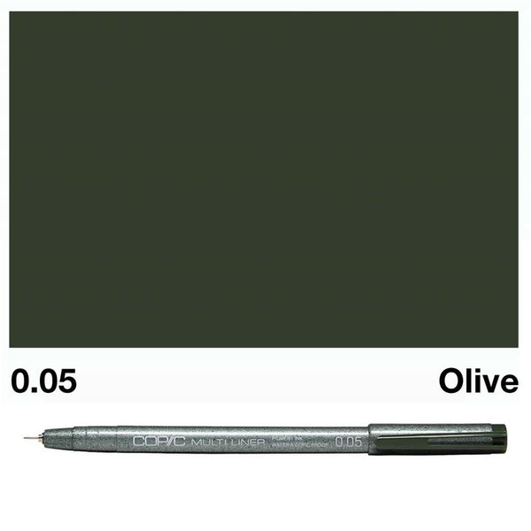 Copic Multiliner - Olive