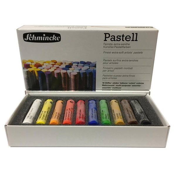 Schmincke Pastell - Finest Extra Soft Artists' Pastel - 10 Set