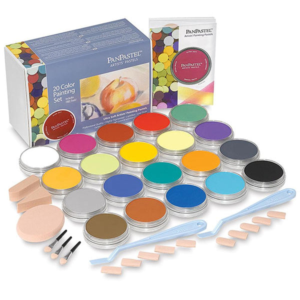 PanPastel 20 Colour Set - Pure Colours