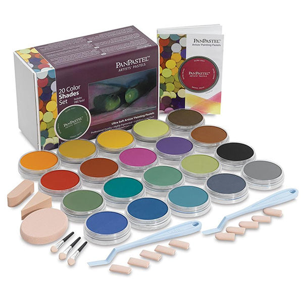 PanPastel 20 Colour Set - Shades