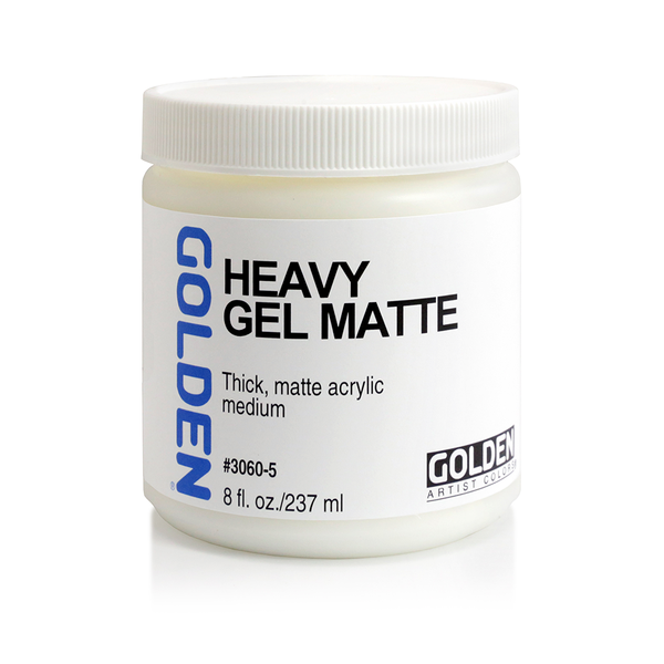 Golden Heavy Gel Matte - 237ml