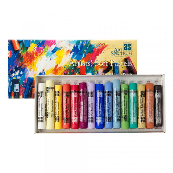Art Spectrum Artists' Soft Pastels - Assorted 15 Set