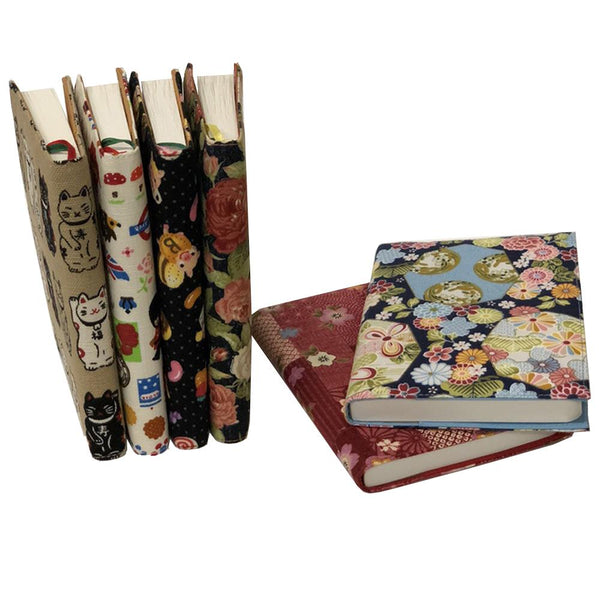 Handmade Fabric Jacket Journals - A6