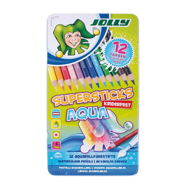 Jolly Superstick Aqua Pencil Sets