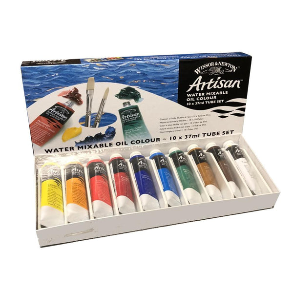 Winsor & Newton Artisan Water Mixable Oil Colour Tube Set