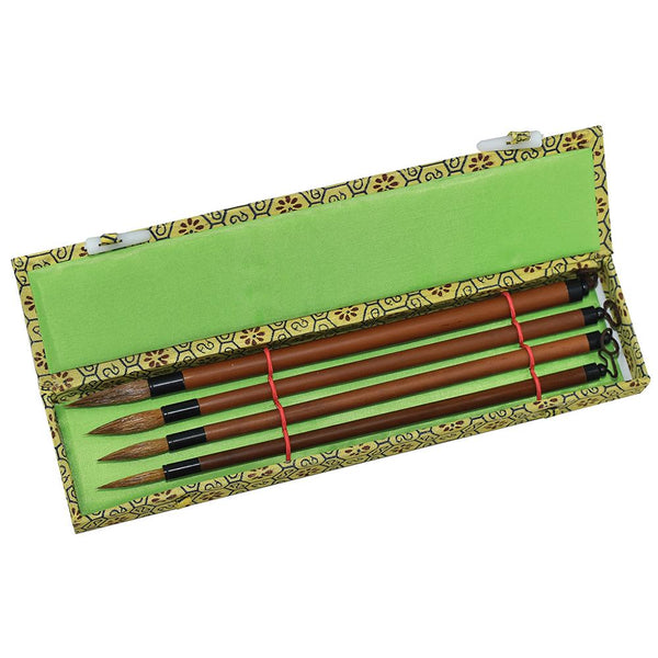 BAMBOO BRUSH SET OF 4