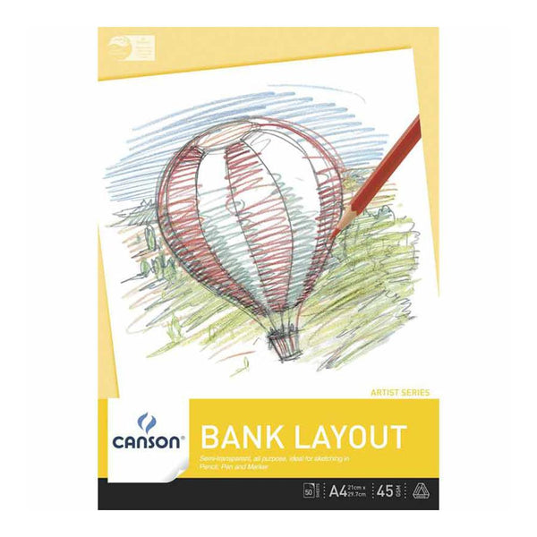 Canson Bank Layout Pad