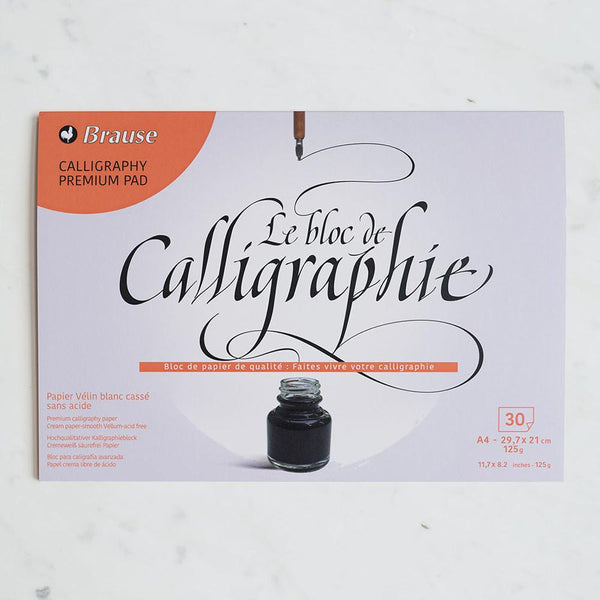 BRAUSE CALLIGRAPHY PREMIUM PAD - A5 & A4