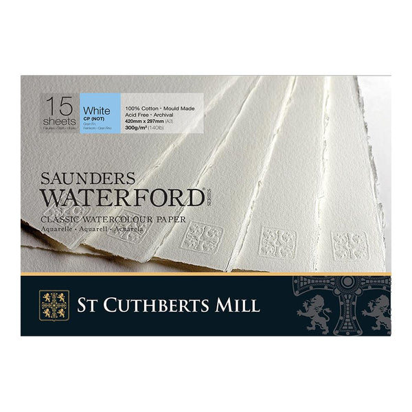 Saunders Waterford Water Colour Pads - Cold Pressed 300gsm