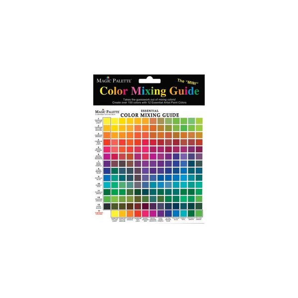Magic Palette Colour Mixing Guide - Mini