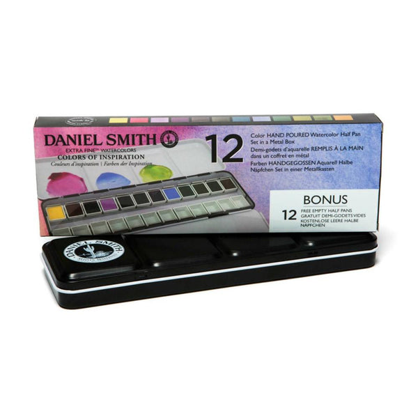 Daniel Smith Colours of Inspiration - 12 Pan Set