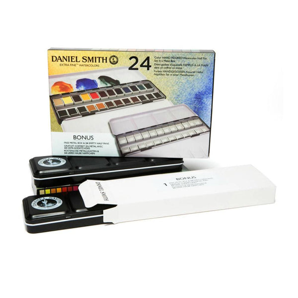 Daniel Smith Extra Fine Watercolours - 24 Pan Set