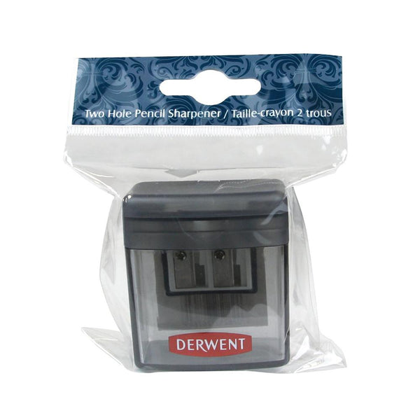 Derwent 2 Hole Pencil Sharpener