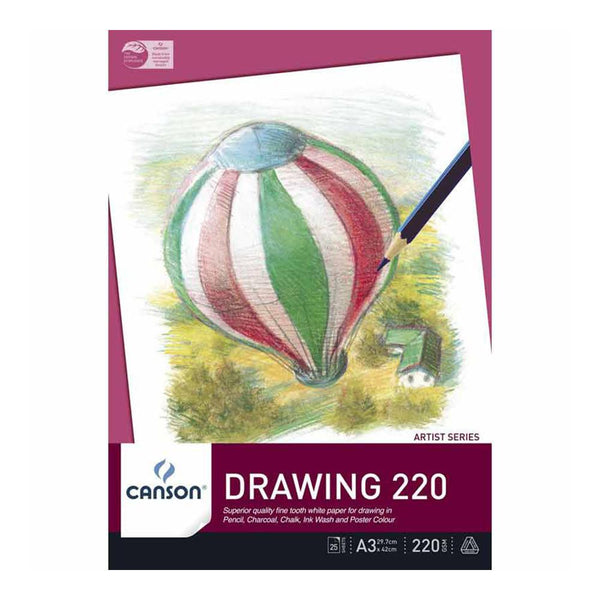 Canson Drawing 220 Pad