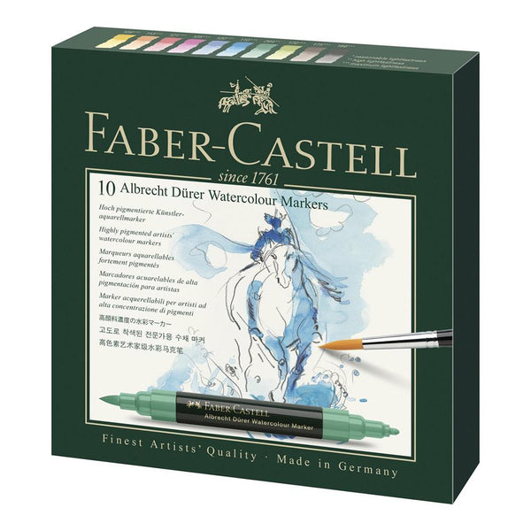 Faber-Castell Albrecht Dürer Watercolour Marker - Set of 10