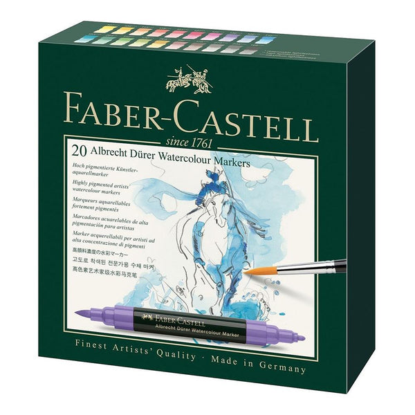 Faber-Castell Albrecht Dürer Watercolour Marker - Set of 20