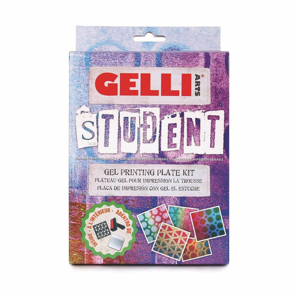 GELLI ART STUDENT PRINITING KIT