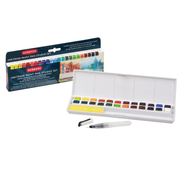 Derwent Inktense Paint Pan Studio Set