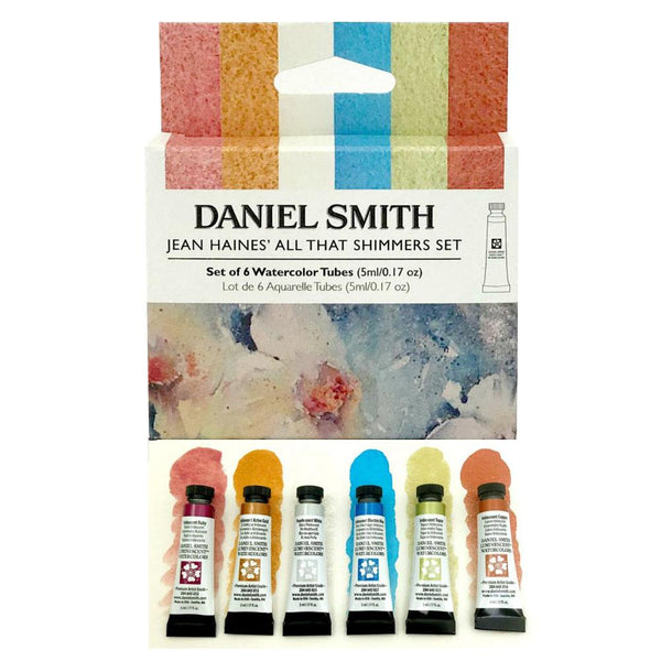 DANIEL SMITH Jean Haines all that shimmers Watercolour Set of 6