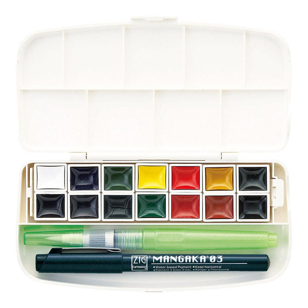 ZIG TRANSPARENT WATERCOLOUR SET