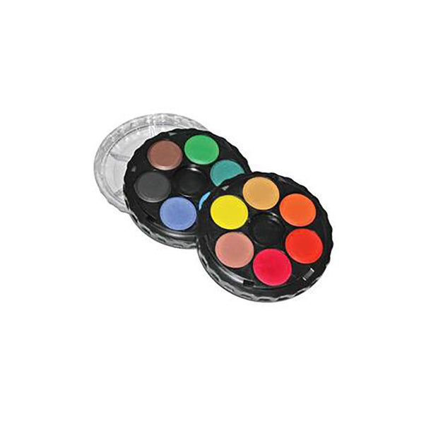 KOH-I-NOOR Water Colour Disc - 12 Assorted