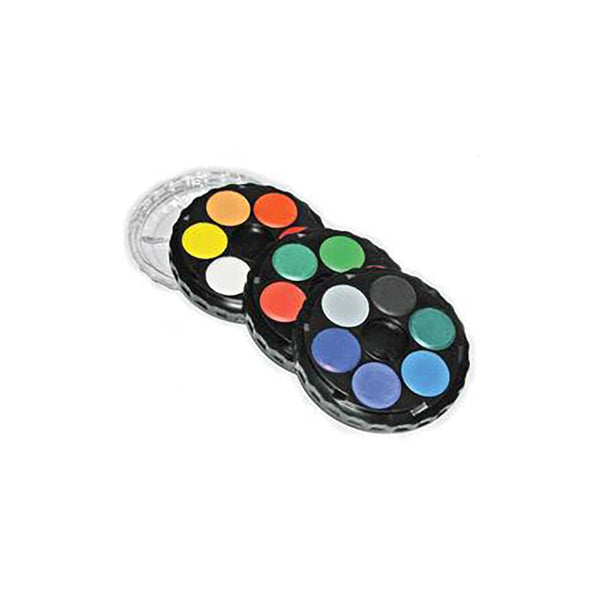 KOH-I-NOOR Water Colour Disc - 18 Assorted