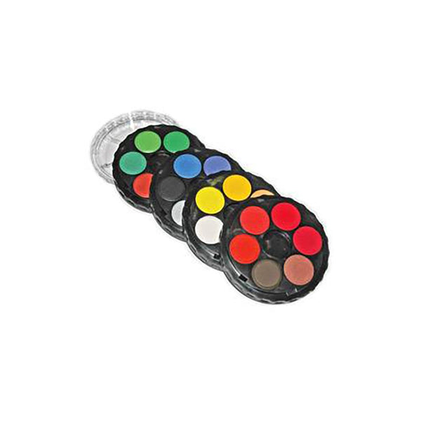 KOH-I-NOOR Water Colour Disc - 24 Assorted