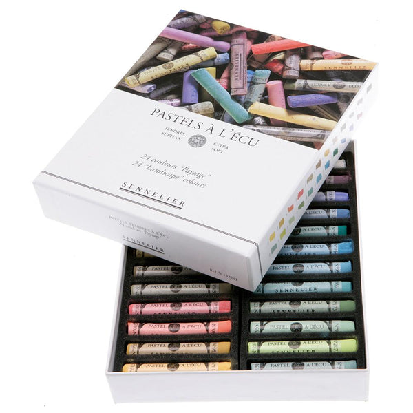Sennelier Soft Pastels - Landscape Colours (Available in 24 & 48 sets)
