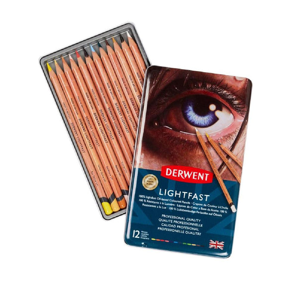 Derwent Lightfast Pencils - 12 Set