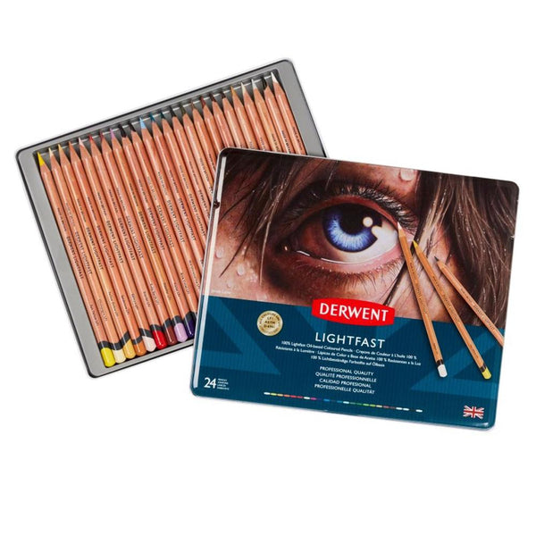 Derwent Lightfast Pencils - 24 Set