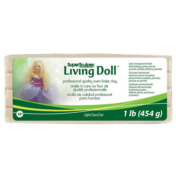 Super Sculpey Living Doll® - Light Beige