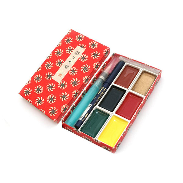 ZIG IRODORI KOBAKO WATERCOLOUR SET