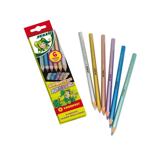 Jolly Supersticks Metallic Pencils