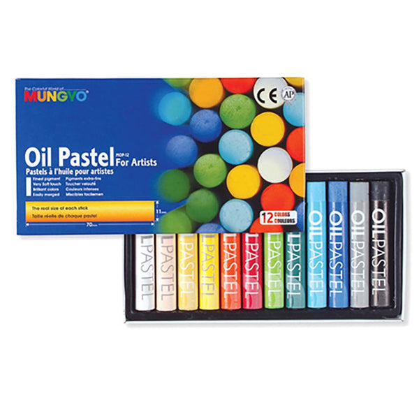 Mungyo Oil Pastels - Set of 12
