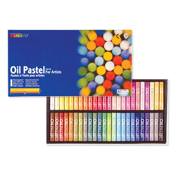 Mungyo Oil Pastels - Set of 48