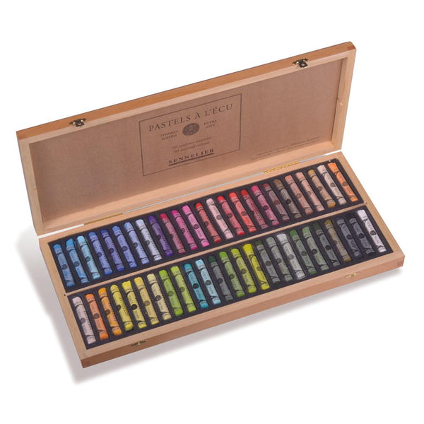 Sennelier Soft Pastels Boxed Set of 50 Assorted
