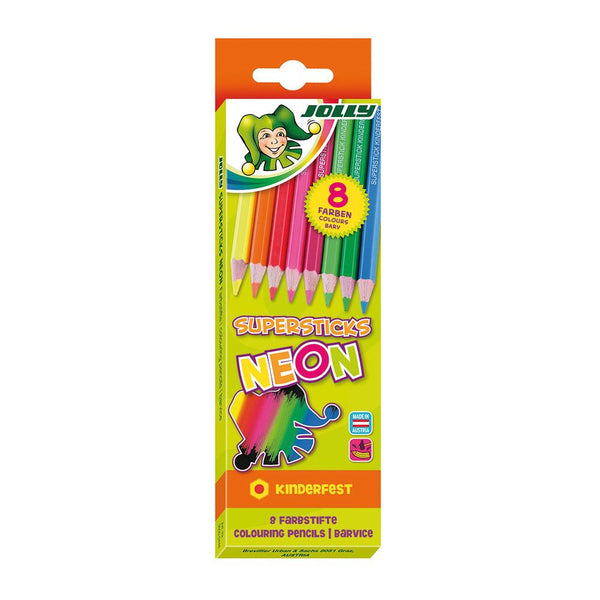 Jolly Superstick Neon Pencils