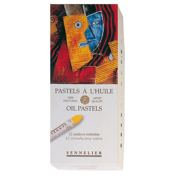 Sennelier Oil Pastel Available In 12 Amp 24 Sets Artsup