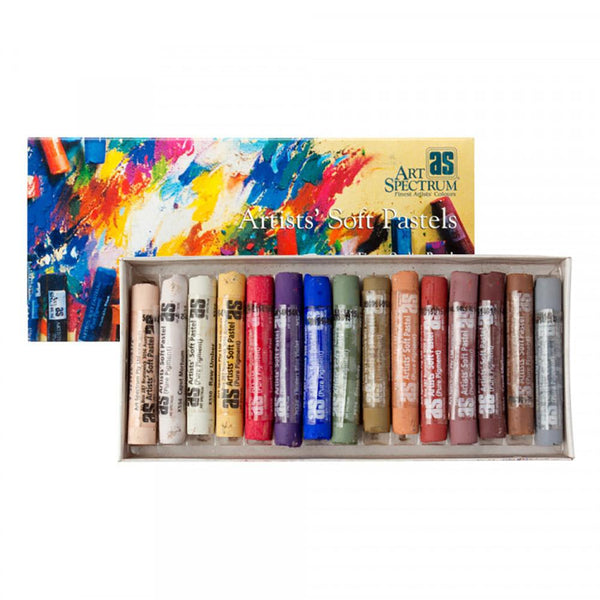 Art Spectrum Artists' Soft Pastels - Portrait 15 Set