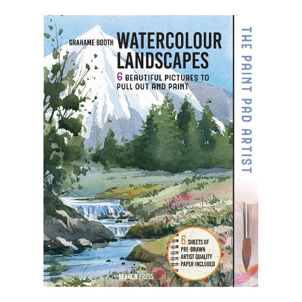 Paint Pad Artist: Watercolour Landscapes