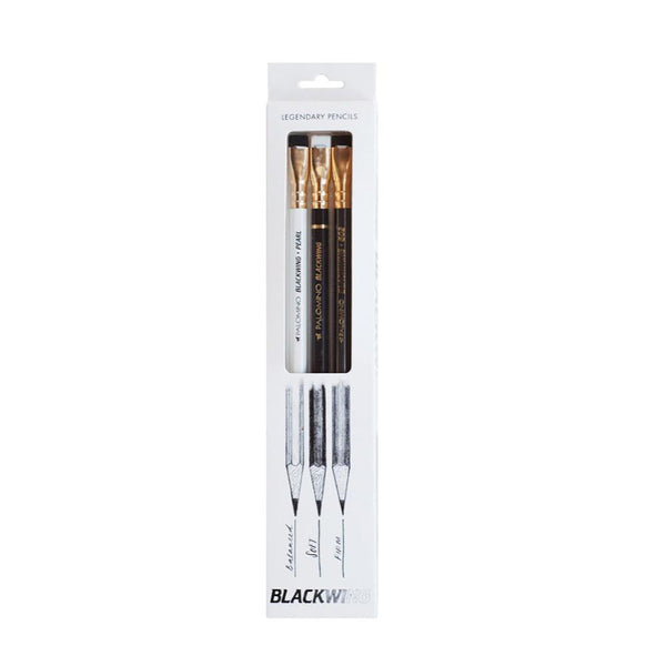 PALOMINO BLACKWING PACK OF 3 ASSORTED