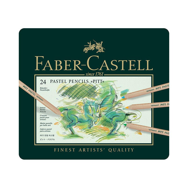 Faber-Castell Pitt Pastel Pencils - 24 Set