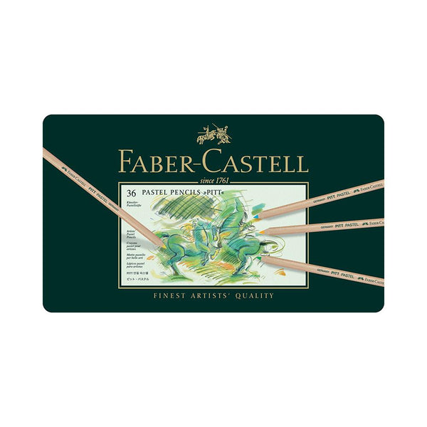 Faber-Castell Pitt Pastel Pencils (Available in 12, 24, 36 & 60 tins)