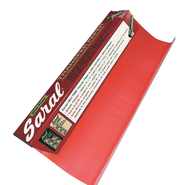 SARAL PAPER ROLL - Red