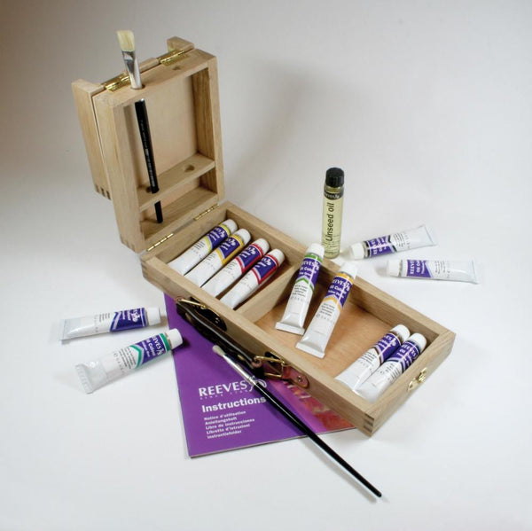 Reeves Artist Oil Colour Travel Set