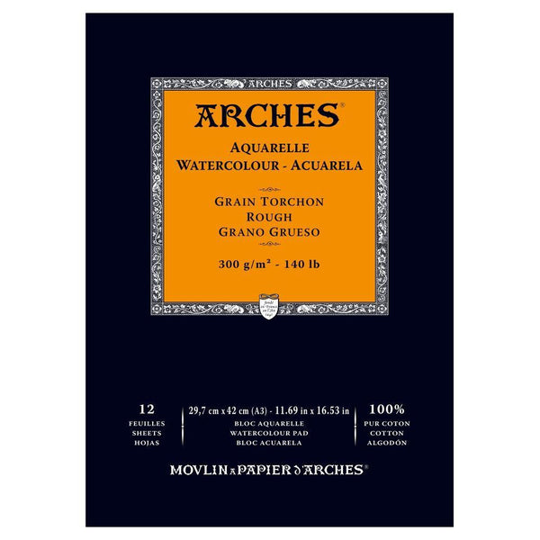 Arches Water Colour Pads - Rough 300gsm