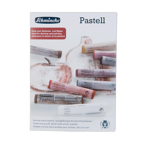 Schmincke Pastell - Finest Extra Soft Artists' Pastel - Sanguine Shades