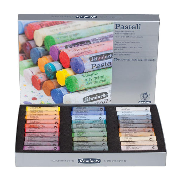 Schmincke Pastell - Finest Extra Soft Artists' Pastel Set