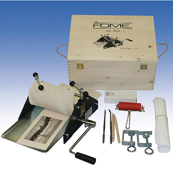 Fome School Etching Press Kit #3622 - 18x32cm