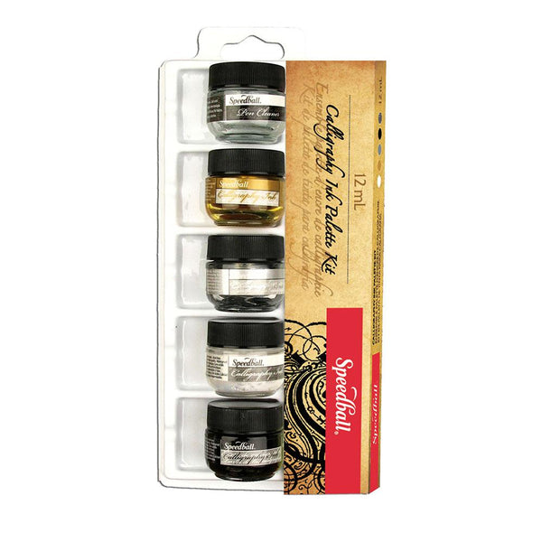 Speedball Calligraphy Ink Palette Set